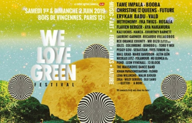 We Love Green Affiche 2019