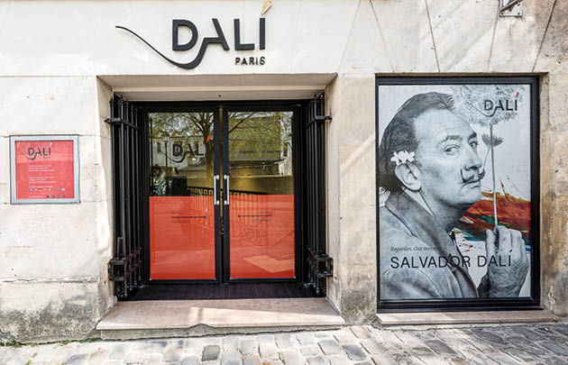 Dali Paris - Entrée © Dali Paris 2018